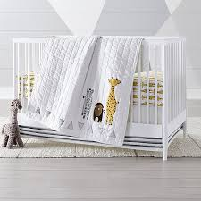safari giraffe crib bedding 3 piece set theville com baby babies kids motherhood