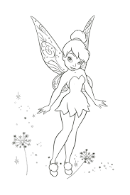 Small Picture Tinkerbell coloring pages overview with a lot of fairies