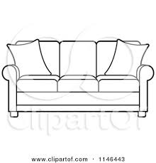 couch clipart black and white.  Couch Couch Clipart Black And White With Couch Clipart Black And White M