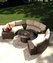 firepit patio sets patio sets fire pit benches stylish semi circle outdoor seating best ideas about