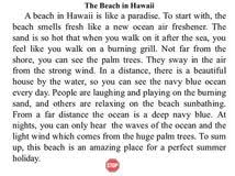 descriptive essay about a beach paying people to write essays descriptive essay about a beach