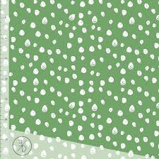 Elvelyckan Design Us Elvelyckan Design Pear Confetti Fabric Organic Cotton Knit