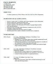 Reserve Officer Sample Resume Unique Resume For Police Officer Elegant Download Sample Resume For Police