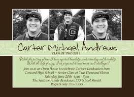 High School Graduation Announcement Elegant High School Graduation Invitation Announcement
