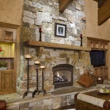 cultured stone room scene