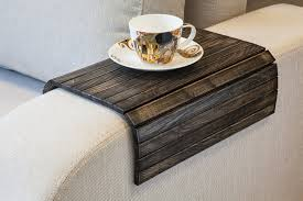 interior sofa tray table vintage black wood laptop rustic creative couch 5 couch table