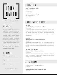 Resume Cv Magnificent Gallery Of The Top Architecture RésuméCV Designs 28