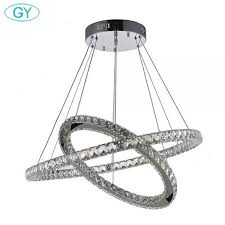 endearing led ring chandelier 20 modern diy 2 rings led crystal 26w 36w 48w 60w 72w light furniture attractive led ring chandelier