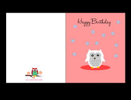 Printable owl birthday cards ~ Printable owl birthday cards ~ Printable adult birthday cards card design ideas