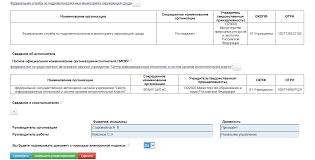 Внешний пользователь Поставщики информации Заполнение  34 Рис 39 Пример заполнения экранной формы ввода РК 34