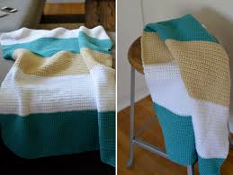 sewing barefoot modern baby blanket