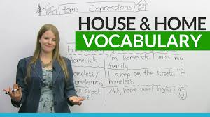 english vocabulary expressions house and home