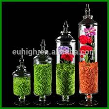 Decorative Glass Candy Jars 100pcs set decorative glass candy jar with glass cover View glass 70