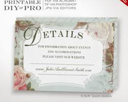 wedding invitation template same sex wedding invitation Vintage Wedding Invitation Templates Photoshop wedding website card template vintage rose wedding information card printable diy french country wedding Wedding Invitation Templates Blank