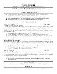 Accounting Resumes Examples Good Accounting Resume Accounting Resume