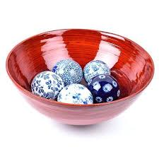 Decorative Glass Balls For Bowls Blue And White Decorative Balls Blue And White Decorative Balls In 11