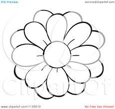 1080x1024 black and white sunflower border clipart panda