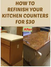 redo kitchen countertops how to refinish your kitchen counter tops for only 30 counter