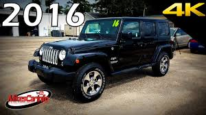 jeep 2016 wrangler. Interesting Jeep 2016 Jeep Wrangler Unlimited Sahara  Ultimate InDepth Look In 4K YouTube In
