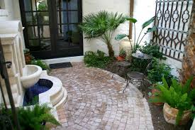 Small Picture Spanish style courtyard with wall fountain Mediterranean