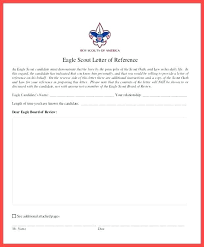 Eagle Scout Letter Of Recommendation Awesome Eagle Letter Of Recommendation Form Infoletterco