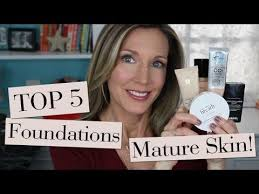 here are my top 5 foundations for skin from the foundation friday for over 50 series here to go to the ranked list of all 100 foundations