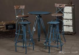 wood and iron bar stools.  Iron Industrial Loft Style Wrought Iron Bar Stools Wood Chair Lift Elm  Rotation Spot Retro Intended Wood And Iron Bar Stools M