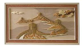 hand carved wooden wall art picture great wall of china chinese furniture  on chinese metal wall art uk with hand carved wooden wall art picture great wall of china chinese