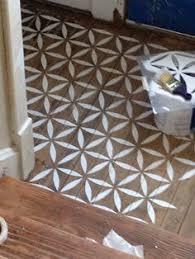 diy hardwood flooring decoration solution looks just like wood inlay after staining