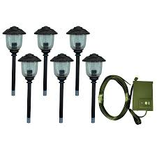 low voltage landscape lighting kits w led high canada