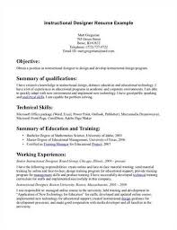 Instructional designer resume to inspire you how to create a good resume 11