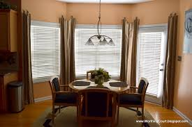 ... Endearing Shades And Blinds For Bay Window Decoration And Home Interior  Ideas : Delightful Dining Room ...