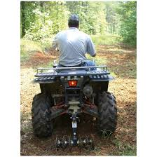 atv and rider s weight force disc into the ground with up to 800 lb