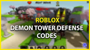 We've also got regular roblox promo codes for items you can use across many roblox games. Roblox Demon Tower Defense Codes August 2021 Free Coins Zenitsu