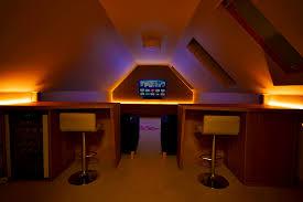 attic lighting. Attic Media Room Lighting H