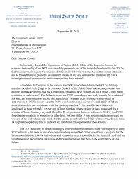 warren letter to fbi the intercept