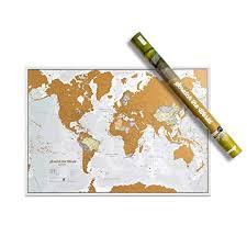 <b>Maps</b> International Scratch the <b>World</b>® <b>Travel Map</b> - Scratch Off ...