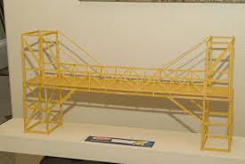 Suspension Bridge Model Design Pin By Brianna Kuster On Diy Spaghetti Bridge Bridge