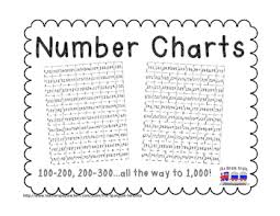 200 Number Chart Worksheets Teaching Resources Tpt