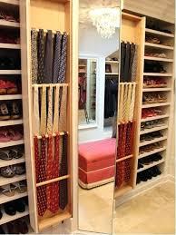 belt closet organizer decoration closet tie rack organizers incredible storage solutions belts ties intended for closet