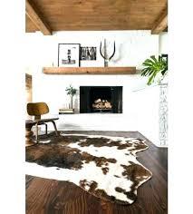 black hide rug faux hide rug faux cow skin rug brown dash faux cowhide rug cow