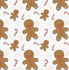 gingerbread background. Brilliant Gingerbread Cute Gingerbread Man Seamless Background Vector Material Gingerbread Man  Seamless Background Candy Cane In Background P