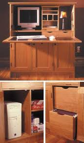 hideaway office. home office hideaway computer desk woodworking plan furniture desks l