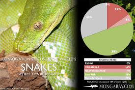 Chart Conservation Status Of The Worlds Snakes