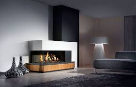 modern fireplace design ideas to fuel gas