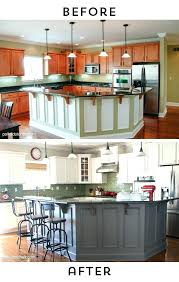 chalk paint kitchen cabinets before and after before after photos kitchen cabinets painted white lots painting