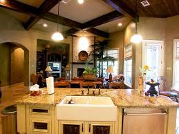 Kitchen And Family Room Decorating Kitchen Family Room Ideas Home Interior Ideas Great