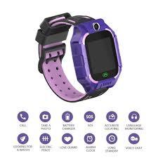 Thông minh cho trẻ em điện thoại đồng hồ gọi cho trẻ em xem cho bé trai bé đồng  hồ thông minh gps điều khiển từ xa vòng đeo tay thể thao