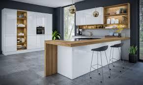 jayline high gloss white kitchen