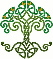 Celtic Tree Chart Celtic Knotted Tree Of Life Embroidery Design